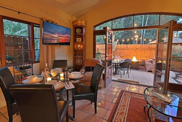 Creekside Cottage - Perfect Home Base Near all that Santa Barbara Has to Offer!