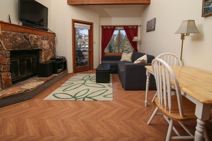 Studio+Loft (1 BR): Ski-Centric and Sunny!