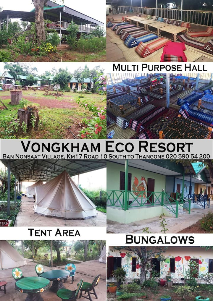 Vongkham Eco Resort, relax and unwind with nature.