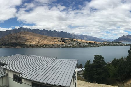 Remarkable View, heated, Red room - Queenstown - House