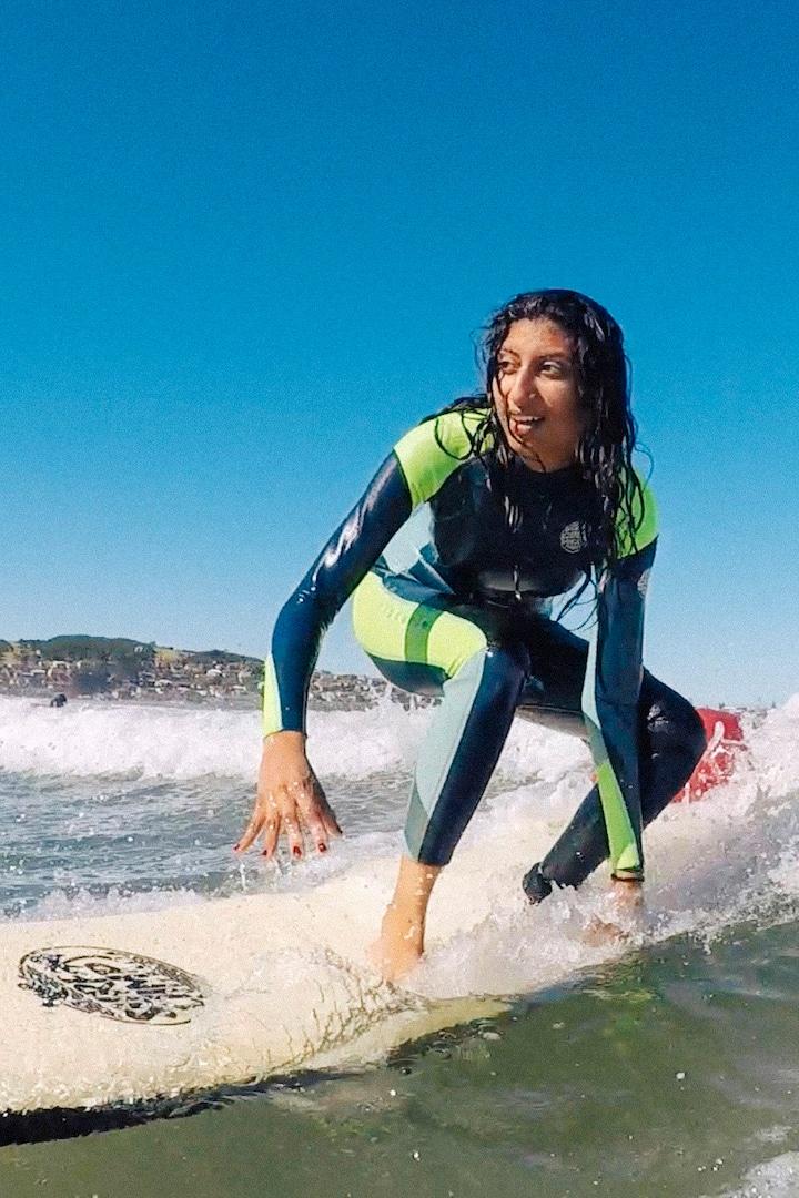 Perfect beginner waves
