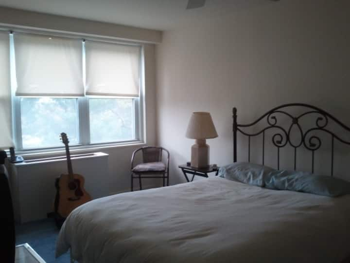 One beautiful large bedroom & Bath