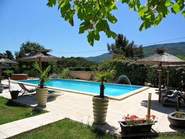 Maisonnette neuve 50M² avec piscine - Pourcieux - Ev