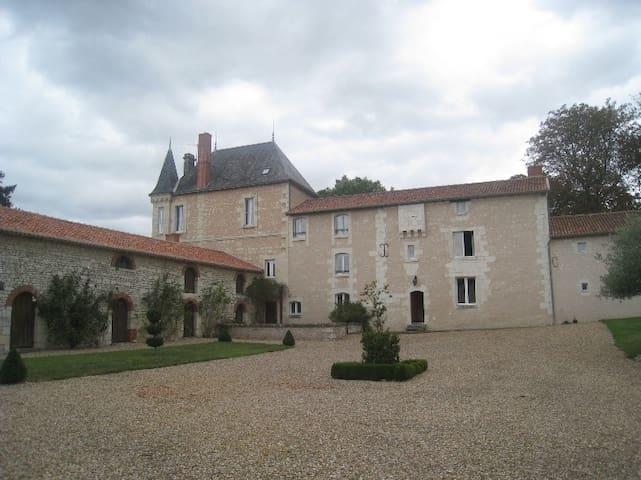 Manoir tourangeau - Faye-la-Vineuse - Dom