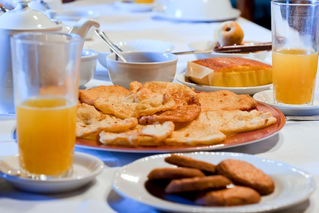 Desayunos abundantes