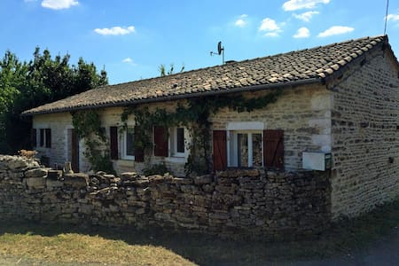 2 Bed Cottage Private Pool Orchard - Messé - Dom