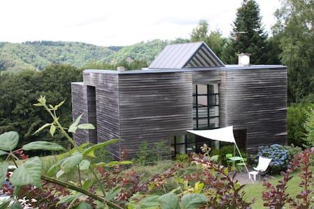 Maison contemporaine entre lac et nature