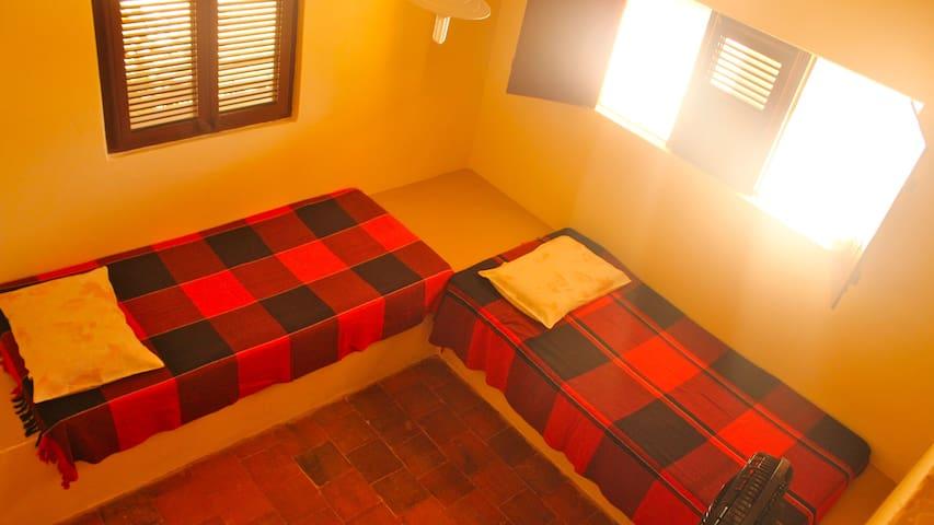 Quarto Coletivo - Hostel Flor da Moringa - Aracati