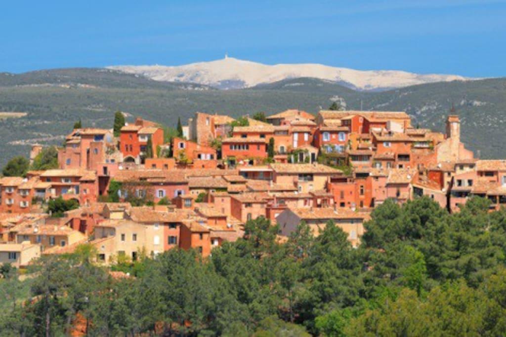 Roussillon et le Ventoux