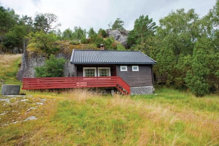 Charming hut by the fjord! - Suldal - Cottage