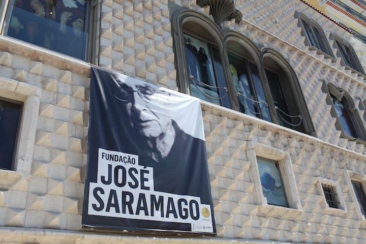 José Saramago museum, at Casa dos Bicos