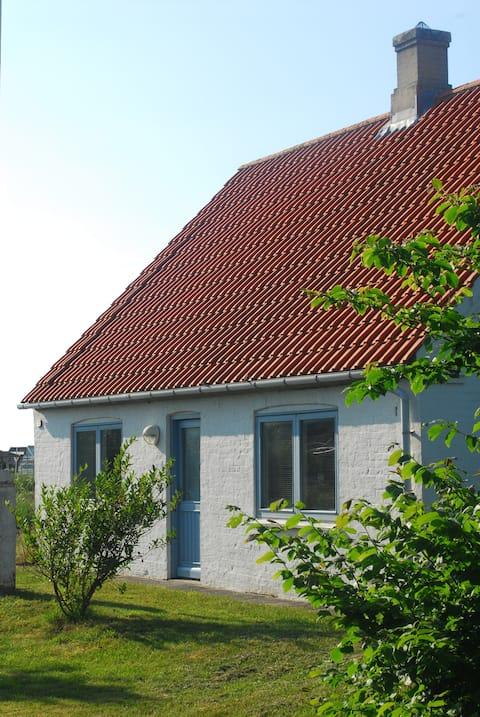 Старый дом рыбаков в Клитмёллере