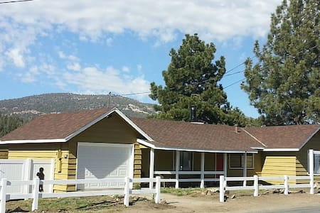Silhouette House, 4 mi to ski rsrt - Big Bear City - House