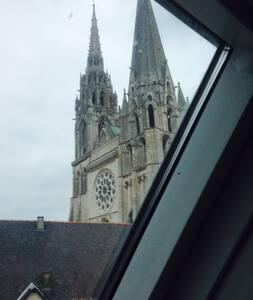 duplex au pied de la cathédrale  - Chartres