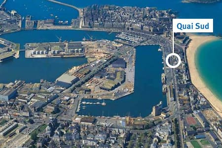Proche remparts & plages,T1bis,wifi,parking - Appartement