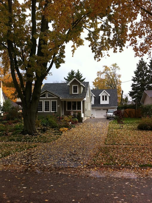 Beautiful cottage in one of rural Ontario's quaint villages.