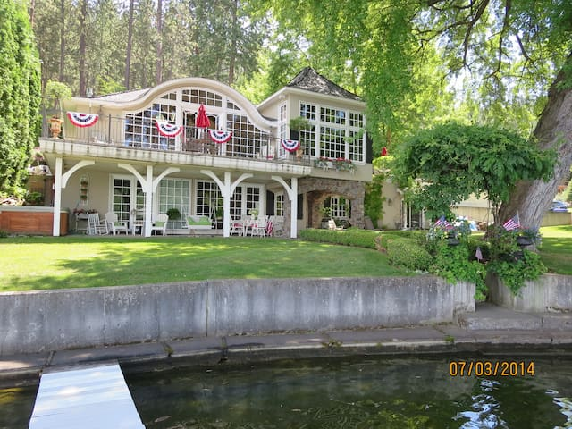 Waterfront Haven on Dreamwood Bay - Liberty Lake - Apartamento