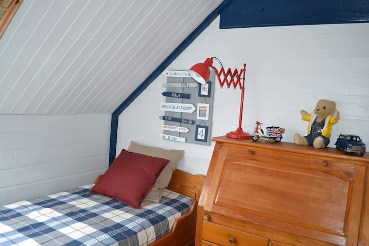 "chambre du ""nautical sailor "" - Saint Jouan des Guérets - Haus"