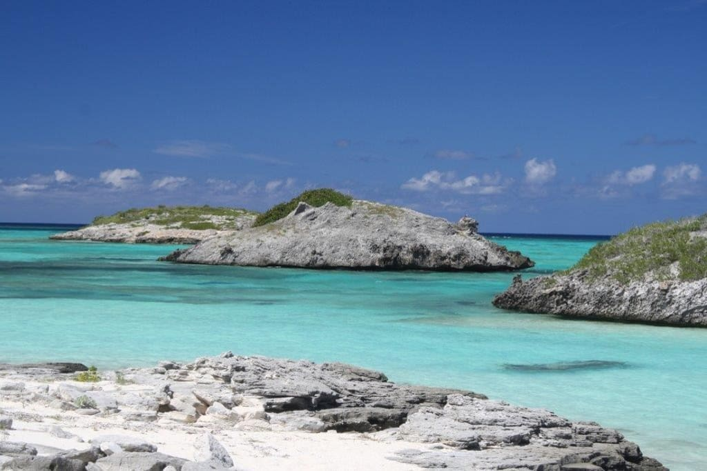 St. Mary's Cay, just a short walk from the Bungalow.