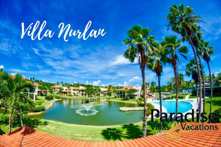 Nurlan- Waterview 2BR PLUS + 3 baths Villa-