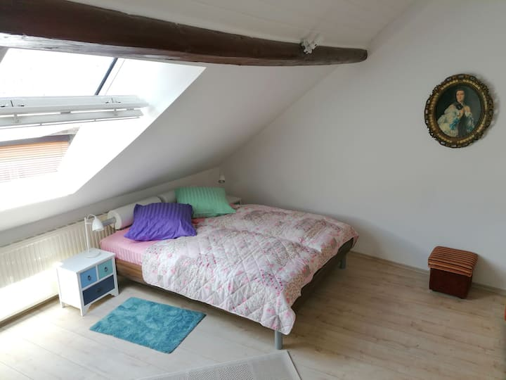 Gästehaus Burgfrieden 6 (Dachgeschoss)