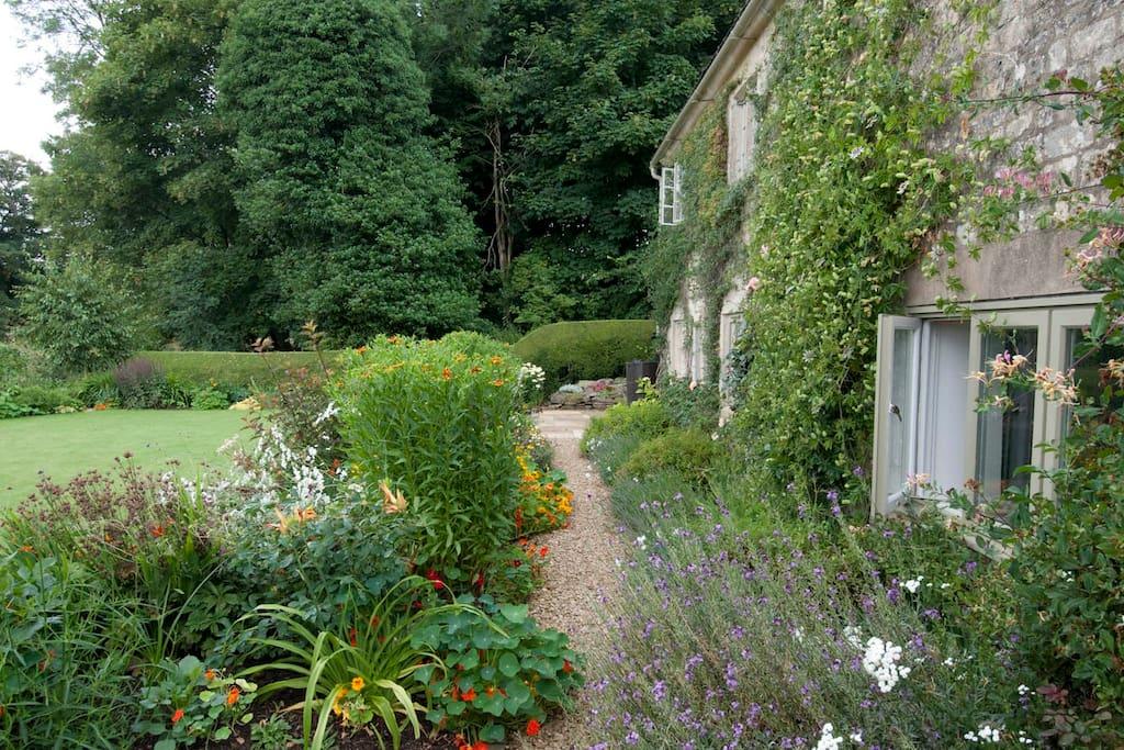 Walk around this amazing garden