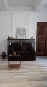 Chambre dans bel appartement en centre historique