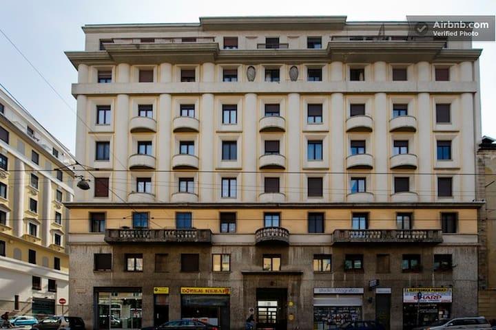 Apartment 2 mins from Bocconi Univ
