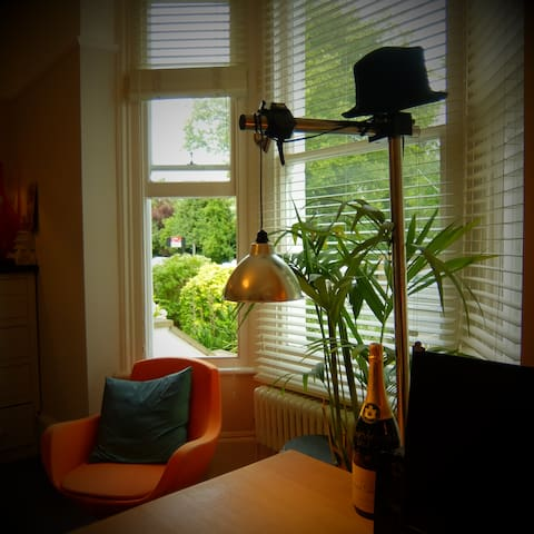 Awesome central 1880s apartment by river/park - Cambridge - Wohnung