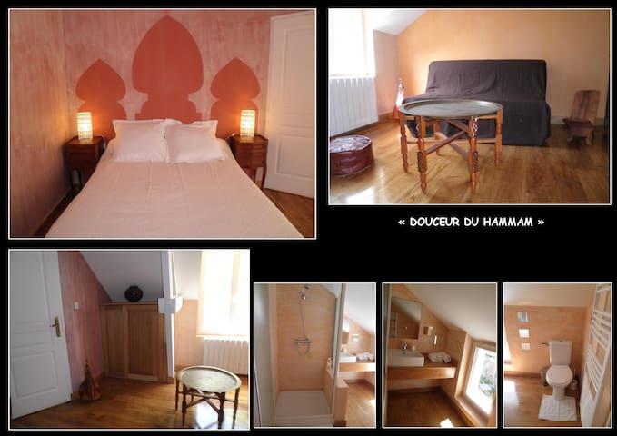 """LE BIAU DOMAINE """"Douceur du Hammam"""" - Saint-Rabier - Bed & Breakfast"""