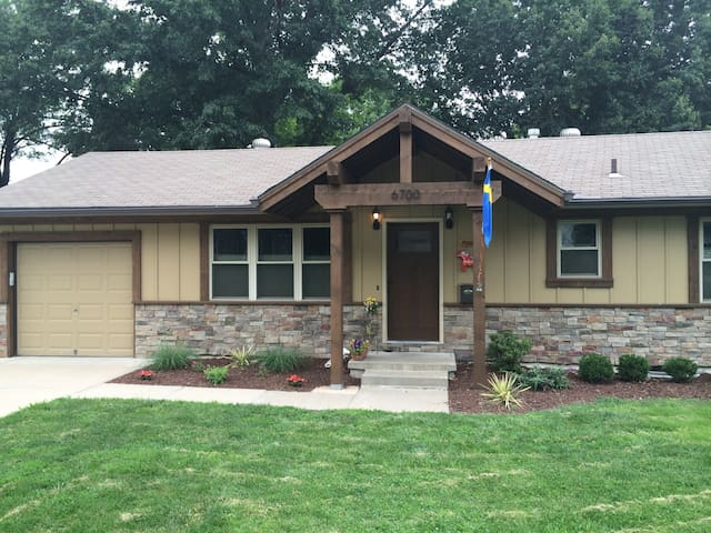 Remodeled ranch in Overland Park.