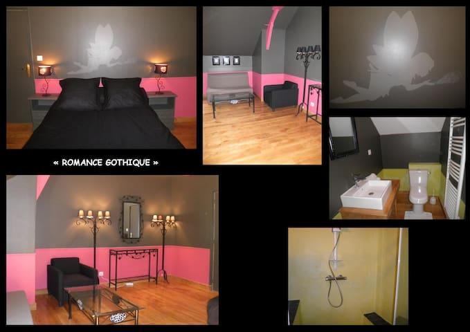 """LE BIAU DOMAINE """"Romance Gothique"""" - Saint-Rabier - Bed & Breakfast"""