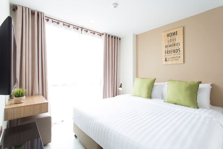 824-bedroom Deluxe with balcony 3mins to Nimman St - Chiang Mai - Apartment