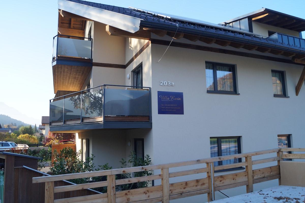 Moderner Anbau An Altbau – Wohn-design