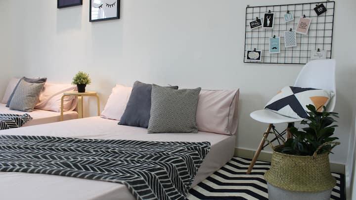 The_Mozy Homestay (Cozy+Comfortable)
