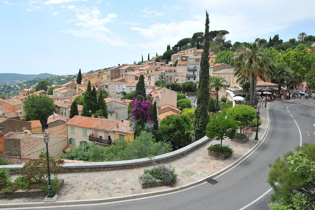 village de Bormes