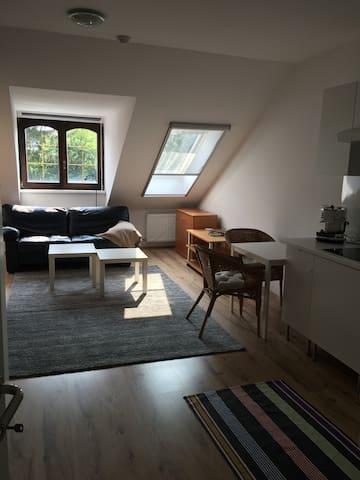 Attraktive Wohnung, Parken vor der Tür - Wenen - Condo
