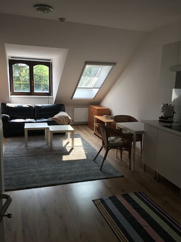 Attraktive Wohnung, Parken vor der Tür - Viena - Apto. en complejo residencial