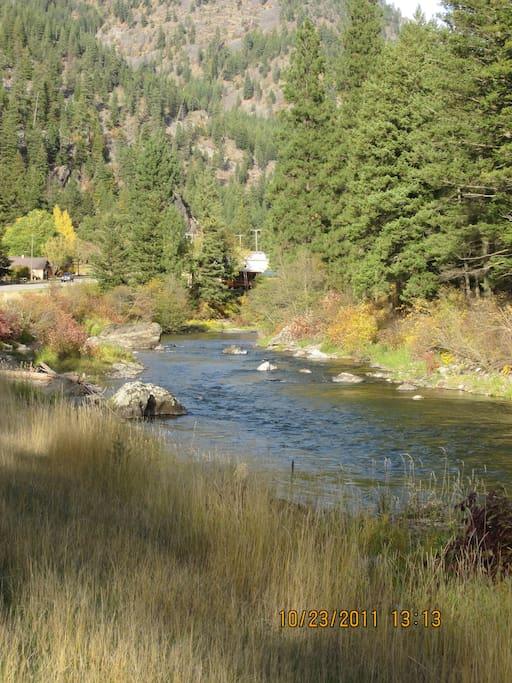 Snider, Montana - population 23 people, 3 llamas, ? bears