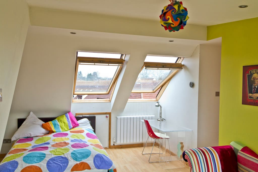 Master bedroom is ensuite and comes with sofa and writing desk