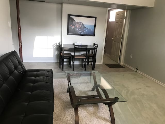 Private room in basement