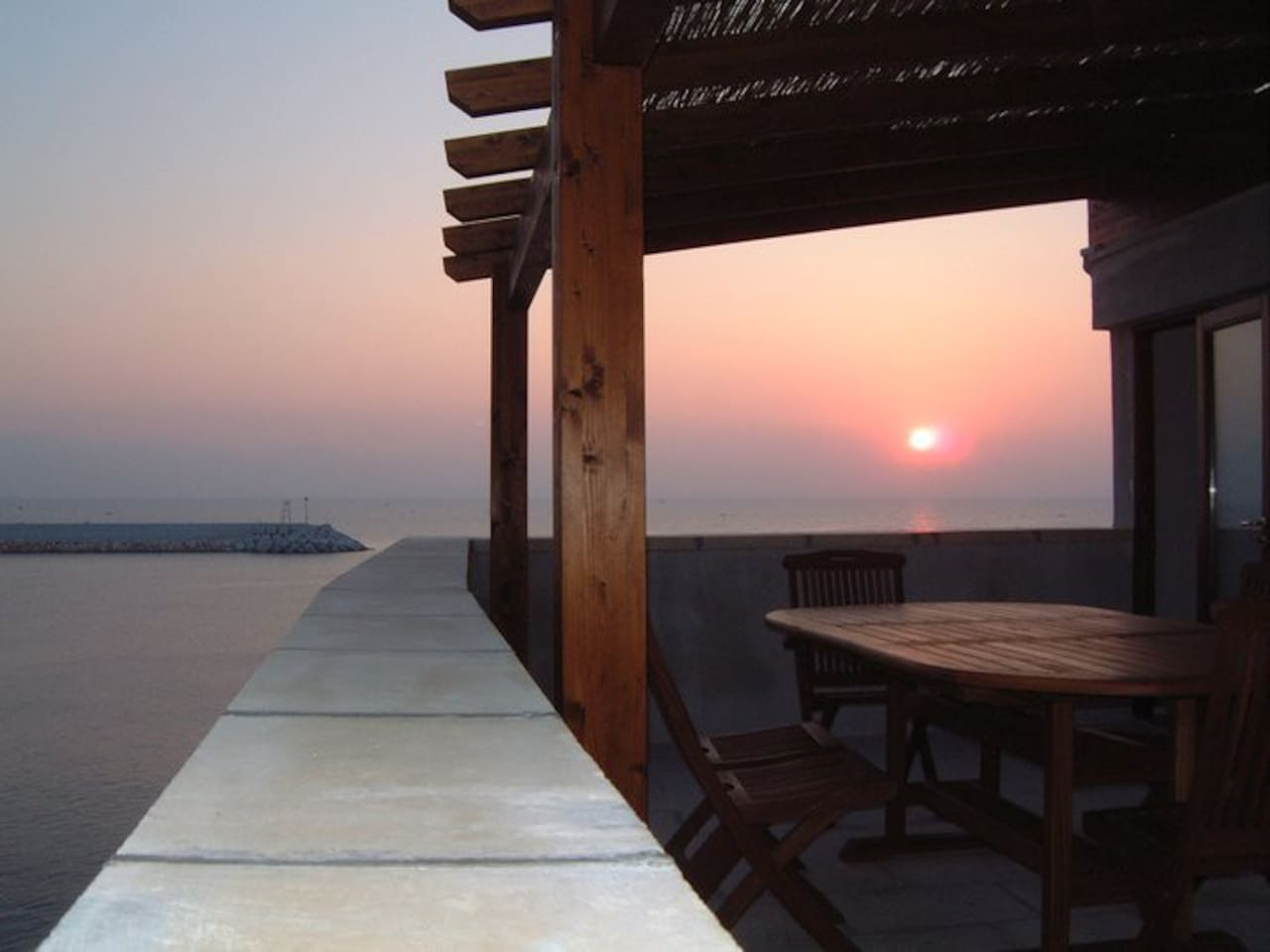 sunrise on terrazza