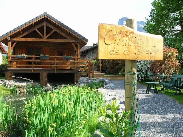 Chalet  de la Yaute au lac d'Annecy