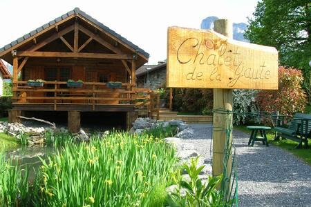 Chalet  de la Yaute au lac d'Annecy - Lathuile