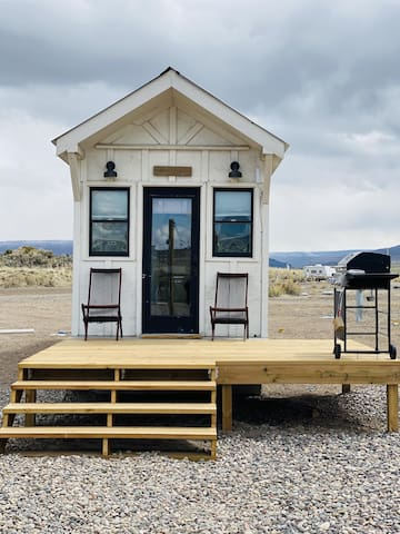 Farmhouse Tiny Home at Trail and Hitch