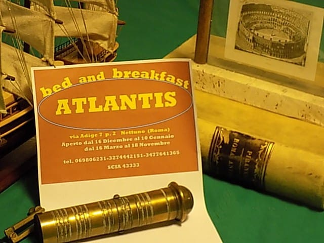 Atlantis bed and breakfast Nettuno