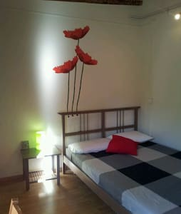 Hi!!! We've got a Nice Double Room at Carrer Princesa, in the heart of Born neighbourhood, in a big furnished and well-equipped apartment with all the services included. It is right next to PIcasso Museum, Ciutadella Park & Jaume I Metro Station. We