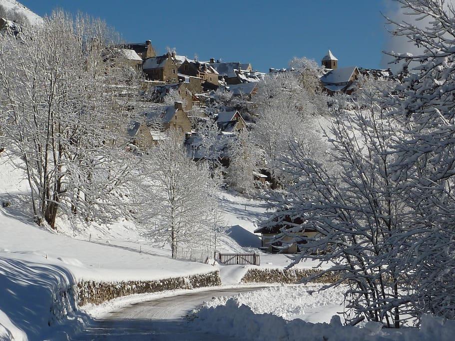 Poesía de la nieve...