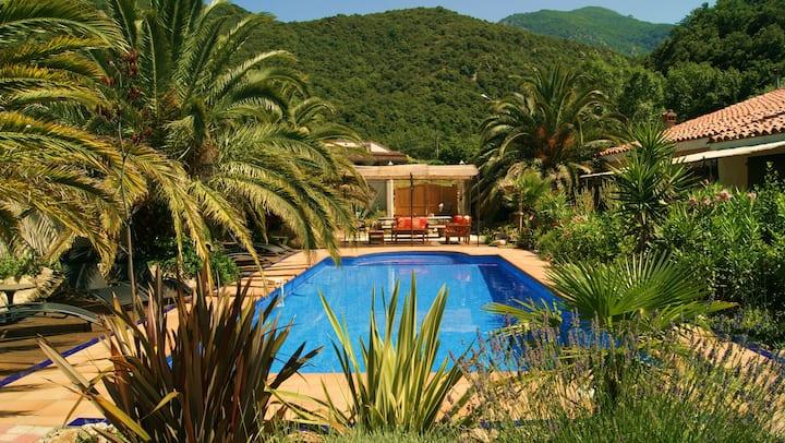 apartment, pool,near collioure