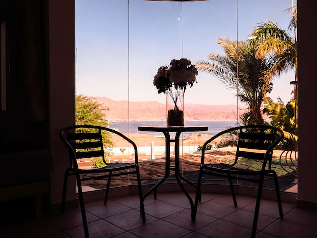 Ahla Dive Villa - Suite with Sea View and Balcony